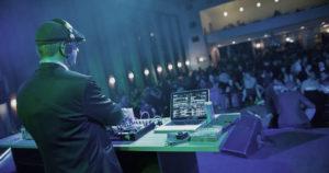 DJ Wolfram von Dobschütz Messe Corporate Event